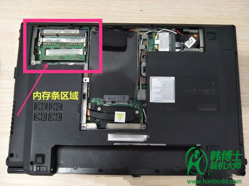 笔记本加内存条_笔记本电脑内存条的正确安装方法-韩博士装机大师